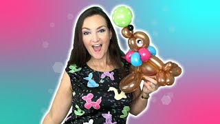 Download SEA LION Balloon Animal Tutorial! - Learn Balloon Animals with Holly! Video