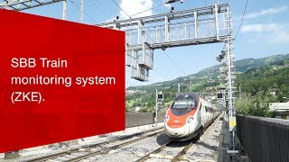 Download SBB Train monitoring system (ZKE): uncompromising safety. Video
