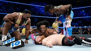 Download Top 10 SmackDown LIVE moments: WWE Top 10, November 21, 2017 Video