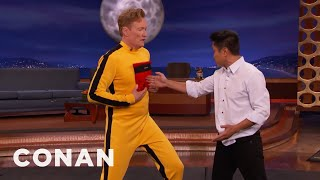 Download Steven Ho Hits Conan With Bruce Lee's One Inch Punch - CONAN on TBS Video