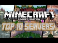 Download TOP 10 SERVERS for Minecraft Pocket Edition Video