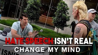 Download Hate Speech Isn't Real (Google Edition) | Change My Mind Video