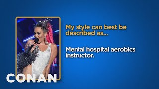 Download Celebrity Survey: Miley Cyrus, Bernie Sanders Edition - CONAN on TBS Video