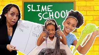 Download Sneaking Candy Into Slime School - Toy School Video