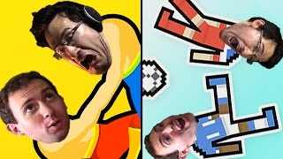 Download Wrestle Jump + Soccer Physics w/ Wade: It Funny I Promise (watch plz) Video