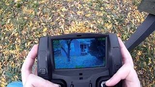 Download Hubsan FPV X4 (H107D) - FPV Flying Video