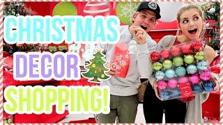 Download SHOPPING FOR CHRISTMAS DECOR! VLOGMAS DAY 1! Video