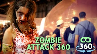 Download Zombie Attack Horror 360º Virtual Reality #360Video #VirtualReality #VR #360 Video