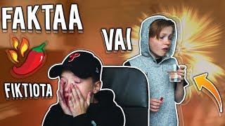 Download FAKTAA VAI FIKTIOTA?! *Tulinen Rangaistus* // Ft. Samppa Video