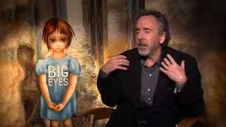 Download Tim Burton - on being shy, isolated and where he gets his ideas from (Big Eyes) Video