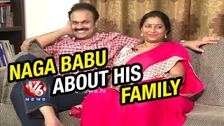 Download Mega Brother Naga Babu And His Wife Padmaja | Life Mates | V6 News Video