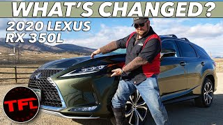 Download This Just In: We Drive The 2020 Lexus RX 350L And Show You Its Only Flaw! Video
