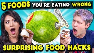 Download 5 Food Hacks You Should Be Doing | You're Doing It Wrong Video