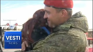 Download TOUCHING: Russian Pilots-Liberators of Syria Receive a Warm Welcome at Home Video