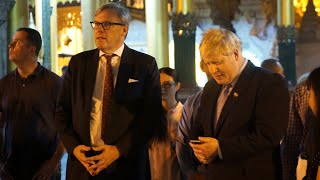 Download 'Not appropriate': Boris Johnson recites Kipling poem in Myanmar temple Video