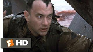 Download Omaha Beach - Saving Private Ryan (1/7) Movie CLIP (1998) HD Video