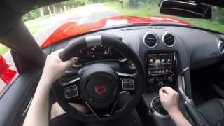 Download Exotic SUPERCAR POV cruise Dodge Viper ACR Video