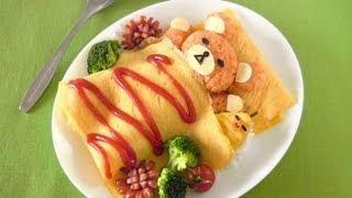Download Rilakkuma Omurice (Bento Idea) リラックマ オムライスの作り方 (レシピ) - OCHIKERON - CREATE EAT HAPPY Video