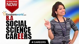 Download CAREERS IN BA SOCIAL SCIENCE – MA,P.hD,Sociology,NGO's,Job Opportunities,Salary Package Video