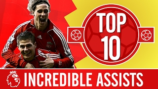 Download Top 10: The most incredible Premier League assists | Gerrard, Alonso, Coutinho Video