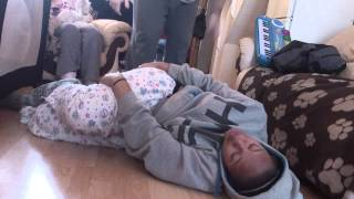 Download Girl Pissing her self laughing so funny Video