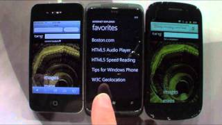 Download Internet Explorer 9 mobile vs Android/iOS Video