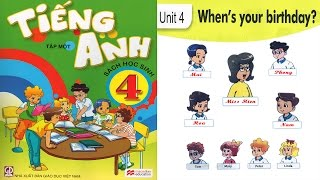 Download Tiếng Anh Lớp 4: Unit 4 WHEN'S YOUR BIRTHDAY - FullHD 1080P Video