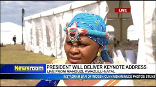 Download Defence Minister Mapisa-Nqakula on Freedom day celebrations Video
