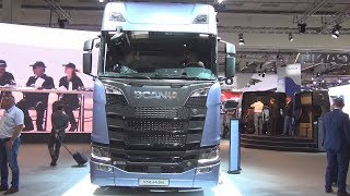 Download Scania S 730 A4x2NB Tractor Truck (2017) Exterior and Interior Video