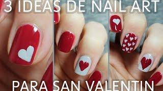 Download 3 ideas para decorar tus uñas de San Valentín en menos de 5 minutos | FÁCIL Video