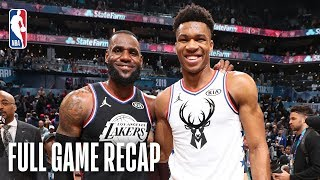Download TEAM LEBRON vs TEAM GIANNIS | 2019 NBA All-Star Game | February 17, 2019 Video