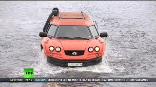 Download RT - Aton Impulse Viking Amphibious Off-Road Vehicle [1080p] Video