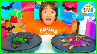 Download Pancake Art Challenge Mystery Wheel Halloween Edition!! Video