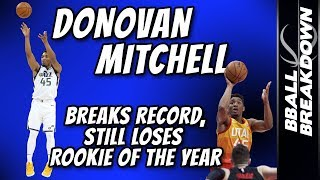 Download DONOVAN MITCHELL Breaks Record, STILL Loses ROY Video