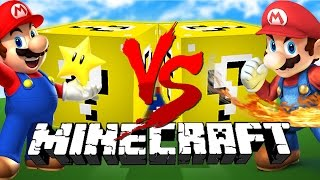 Download Minecraft: MARIO LUCKY BLOCK CHALLENGE | Mario vs Mario! Video