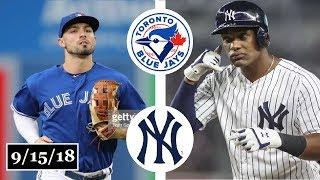 Download Toronto Blue Jays vs New York Yankees Highlights || September 15, 2018 Video