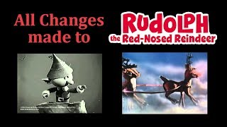 Download All Changes made to Rankin/Bass Rudolph The Red-Nosed Reindeer Video