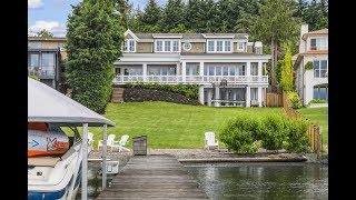 Download Cape Cod Traditional Meets Pacific Northwest Grandeur in Mercer Island, Washington Video