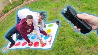 Download EXTREME GAME OF TASER TWISTER! Video