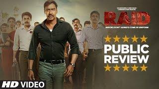 Download PUBLIC REVIEW: RAID   Ajay Devgn   Ileana D'Cruz   Movie In Cinemas Now Video