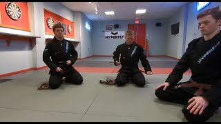Download Nik & Si Promoted to Black Belt in the Collier Method of Judo (1 January 2020) Video