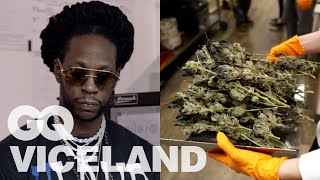 Download 2 Chainz Checks Out California's First Legal Weed Cultivator | Most Expensivest | VICELAND & GQ Video