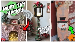 Download 4 Dollar Tree Christmas Hacks You NEED to Try Video