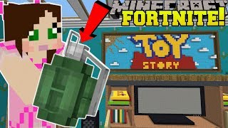Download Minecraft: TOY STORY LIVING ROOM - FORTNITE BATTLE ROYALE - Modded Mini-Game Video