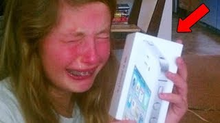 Download 10 Spoiled Kids Reacting To Christmas Presents Video