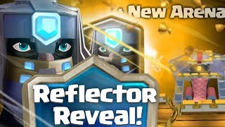 Download Clash royale - introducing the reflector + New arena (new legendary card, dungeon concept idea) Video