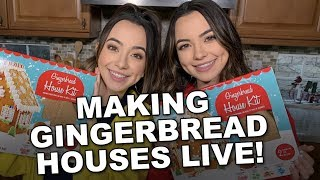 Download Making Gingerbread Houses - Merrell Twins LIVE Video