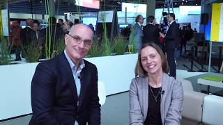 Download #MWC19 - Taking with Marie Hogan, Head of Broadband & IoT, Product Area Networks, Ericsson Video