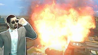 Download HUGE FIRE TORNADO! - Garry's Mod Gameplay - Gmod Natural Disasters & Tornado Survival Video