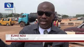 Download Enugu Residents Applaud FG On Enugu Onitsha Expressway Upgrade |Eyewitness| Video